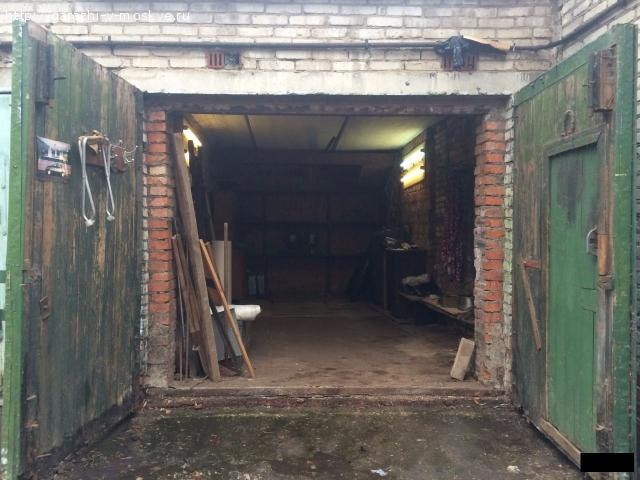 Кирпичный гараж 21м