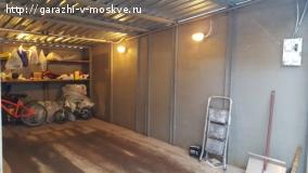 Металлический гараж в гаражном комплексе