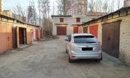наземный кирпичный гараж